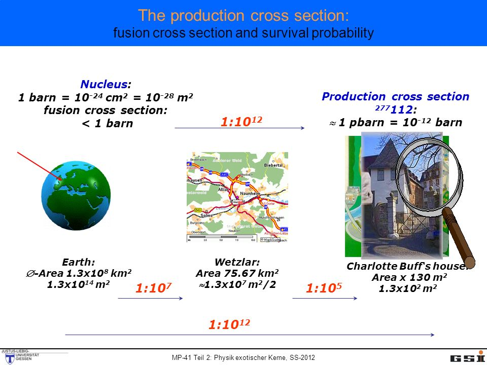 Production cross section