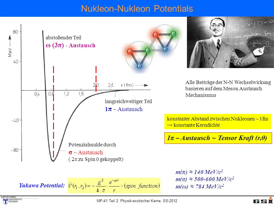 Nukleon-Nukleon Potentials