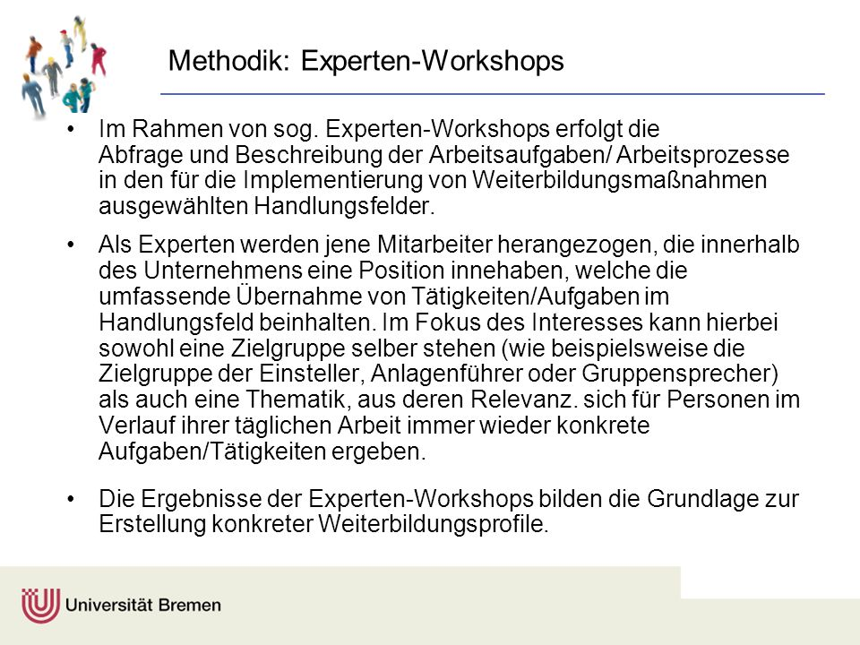 Methodik: Experten-Workshops