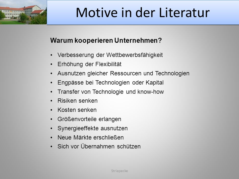 Motive in der Literatur