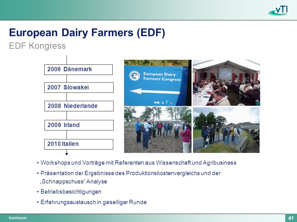 European Dairy Farmers (EDF) EDF Kongress