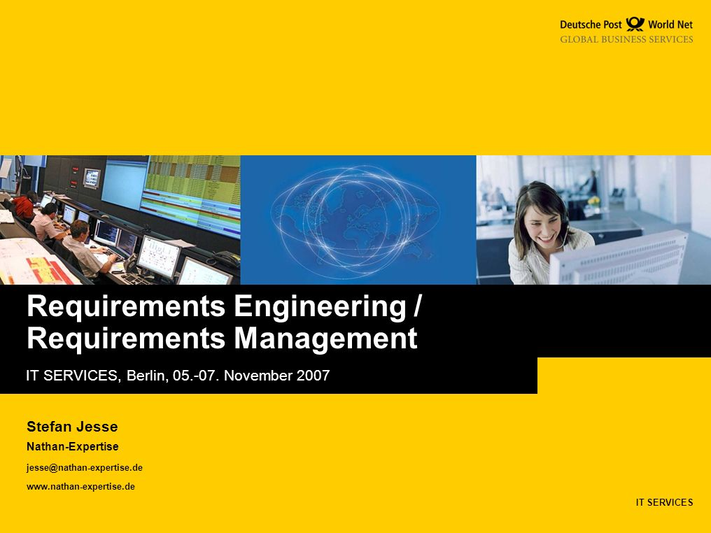 Requirements Engineering / Requirements Management