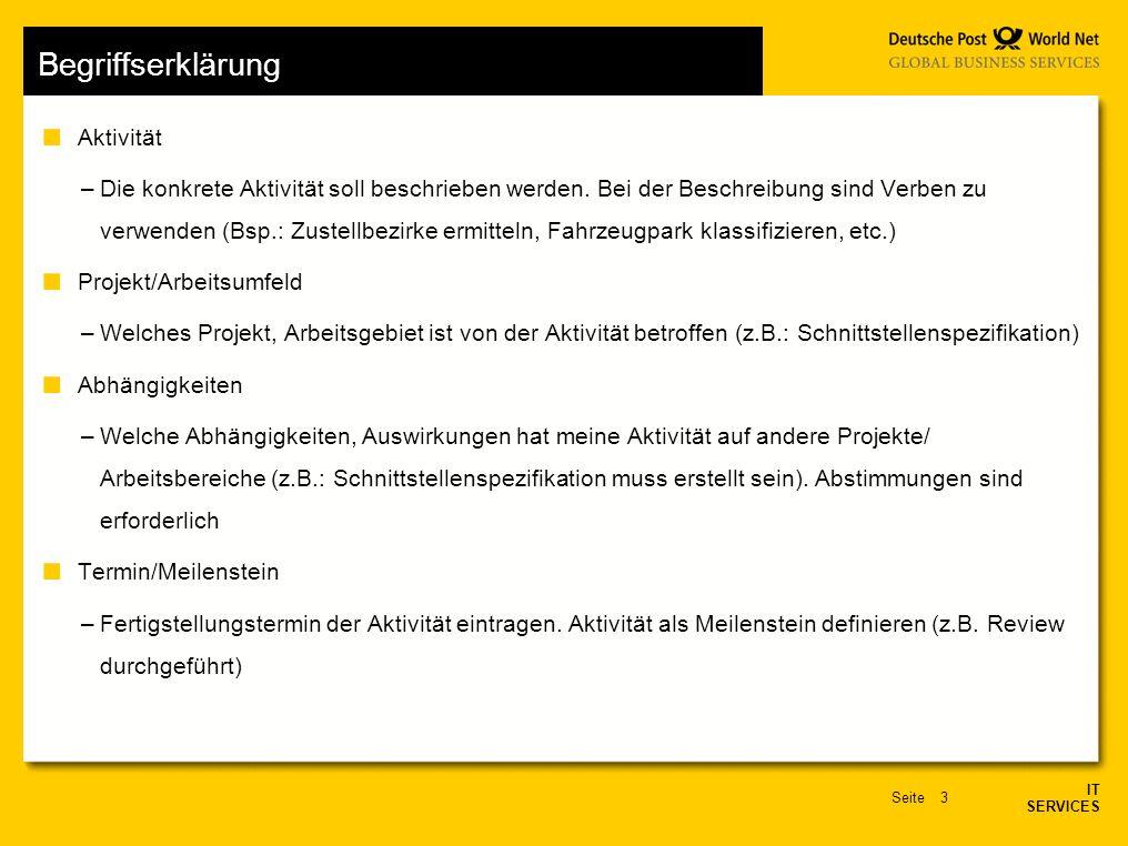 Aktionsplan IT SERVICES,. - ppt video online herunterladen