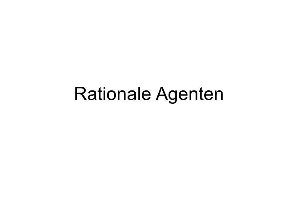 Rationale Agenten