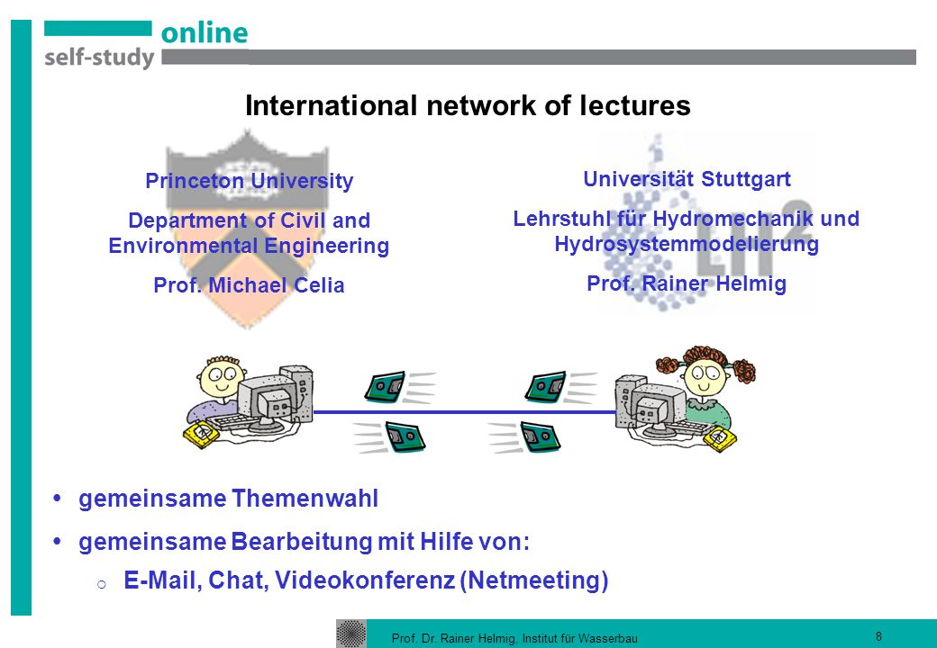 International network of lectures