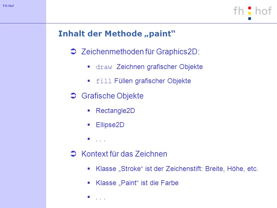 "Inhalt der Methode ""paint"
