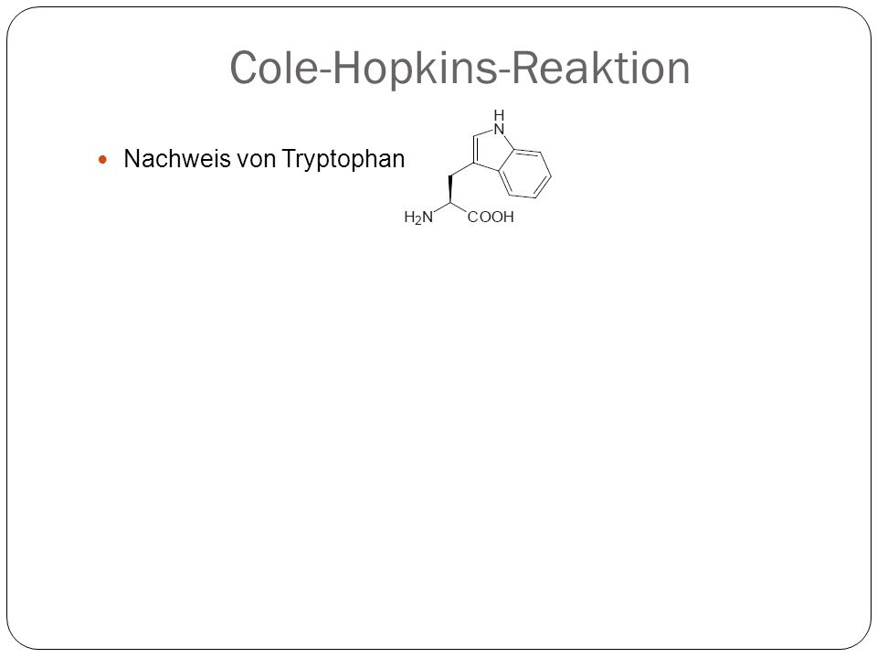 Cole-Hopkins-Reaktion