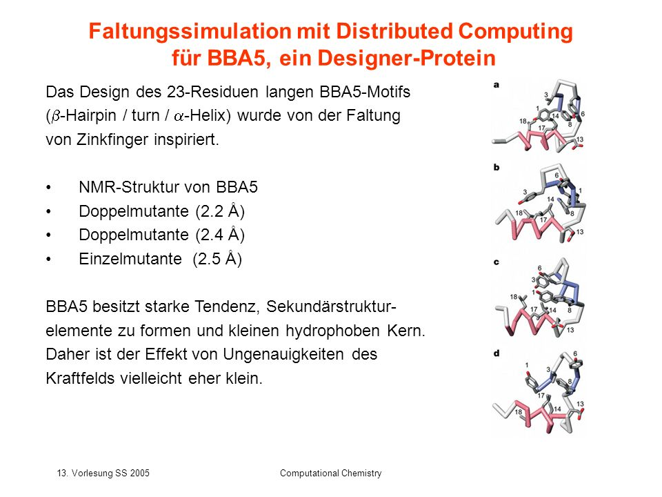 Faltungssimulation mit Distributed Computing