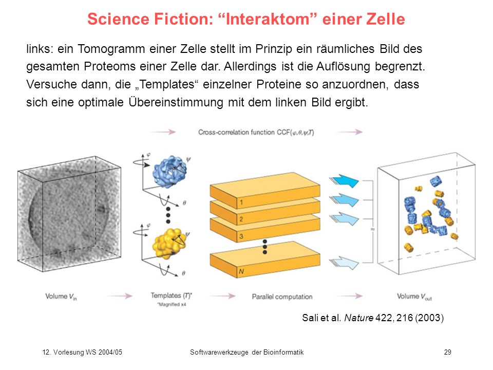 Science Fiction: Interaktom einer Zelle