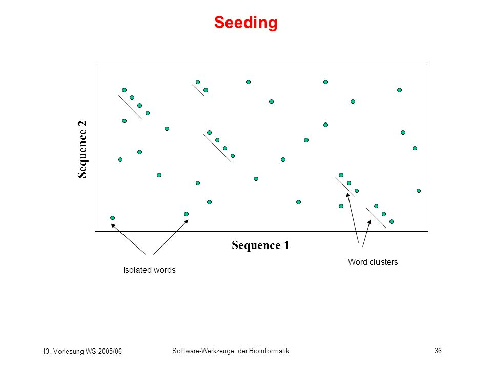 Seeding Sequence 2 Sequence 1