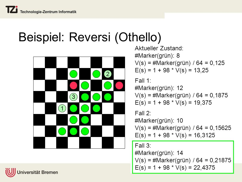 Beispiel: Reversi (Othello)