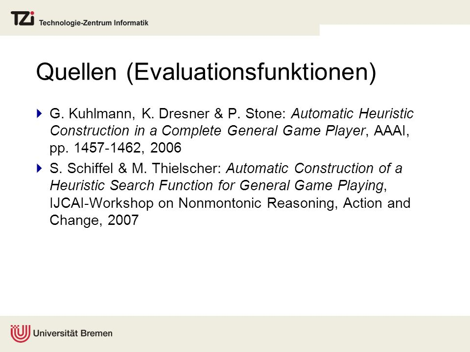 Quellen (Evaluationsfunktionen)