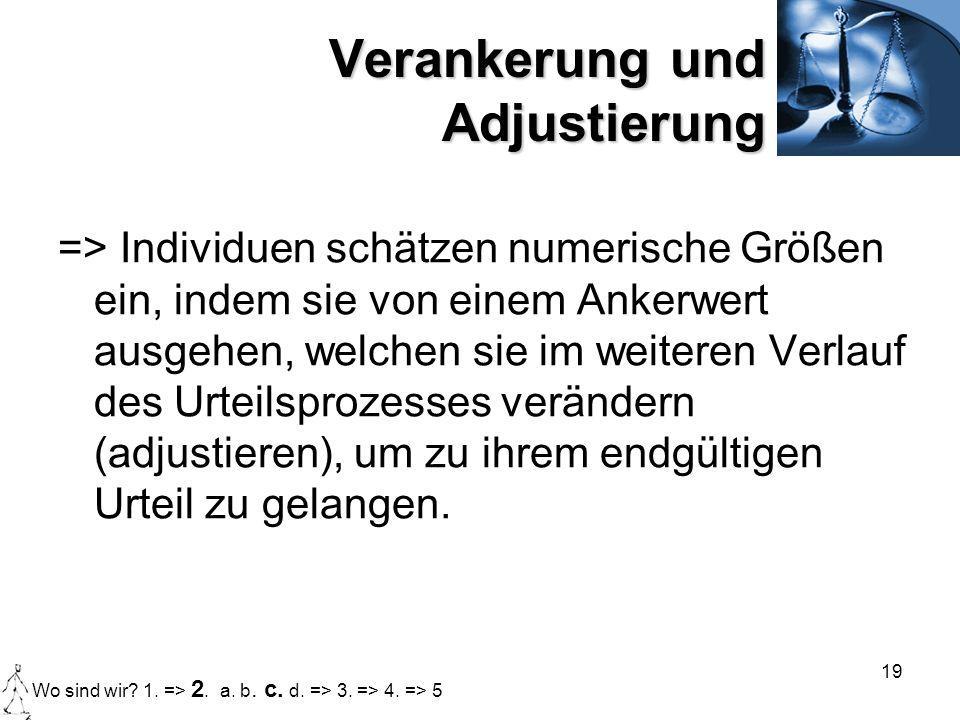 Urteilsheuristiken Verarbeitung sozialer Informationen - ppt ...