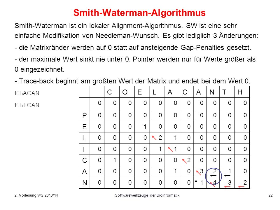 Smith-Waterman-Algorithmus