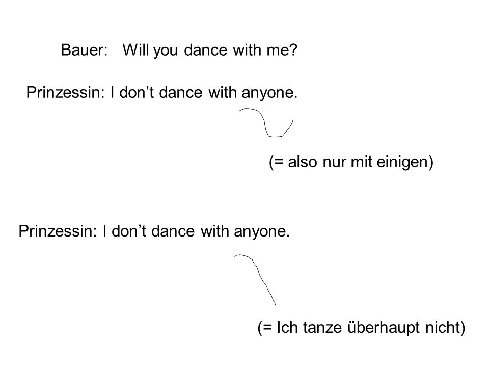 Bauer: Will you dance with me