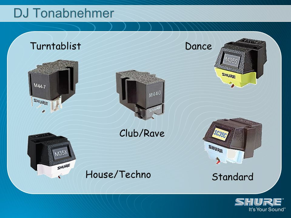 DJ Tonabnehmer Turntablist Dance Club/Rave House/Techno Standard