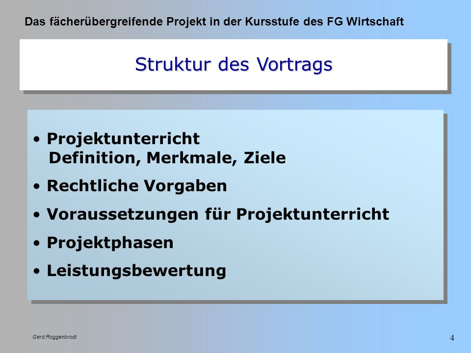 Projektunterricht Definition, Merkmale, Ziele