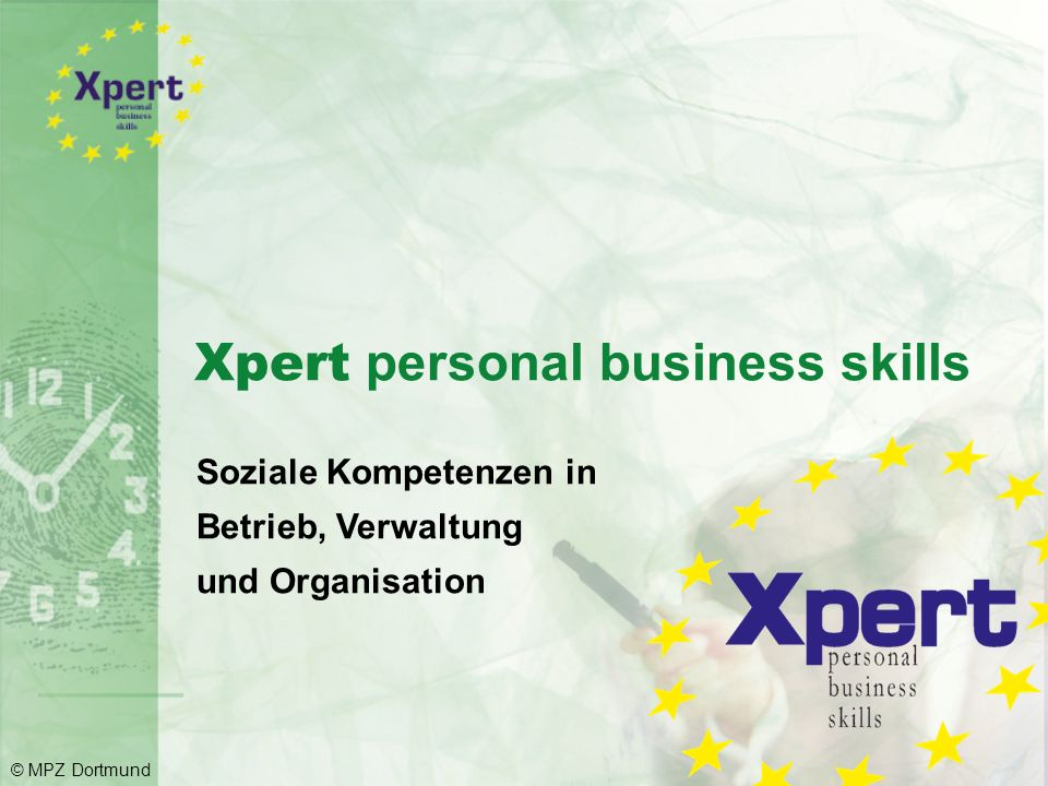 Xpert personal business skills
