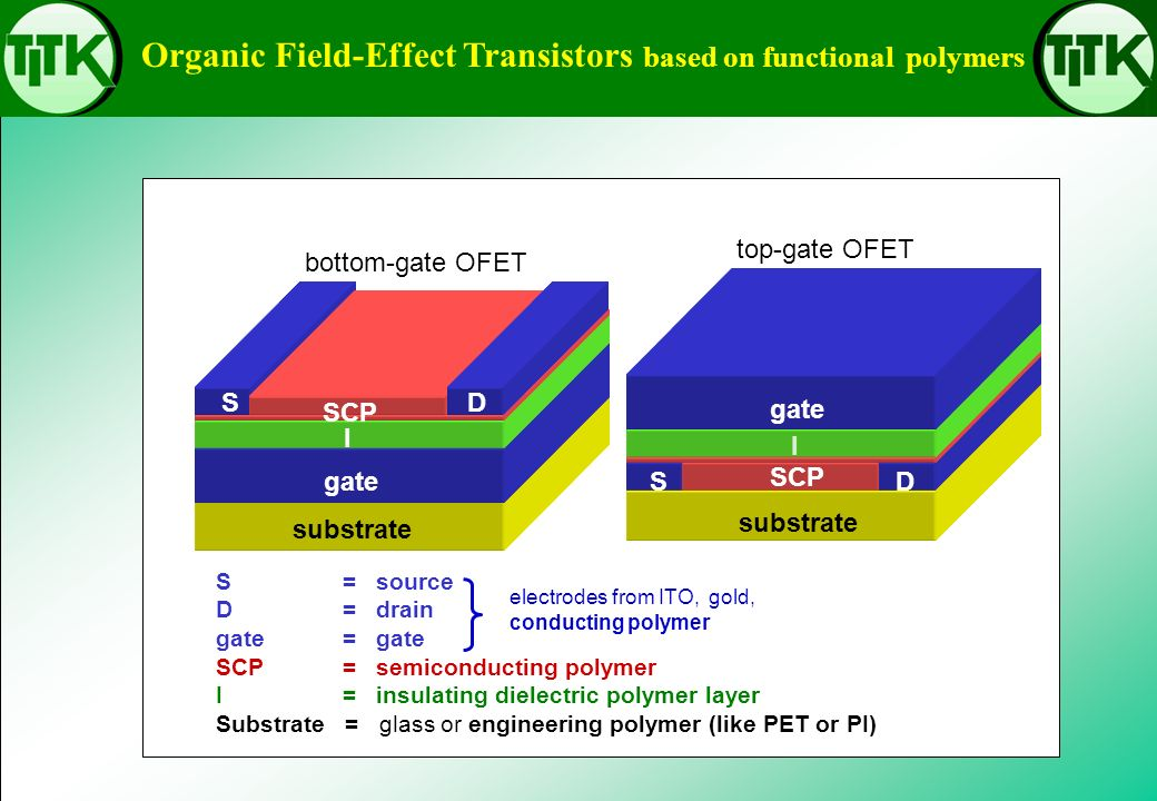 Organic Field-Effect Transistors based on functional polymers