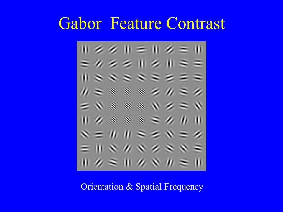 Gabor Feature Contrast