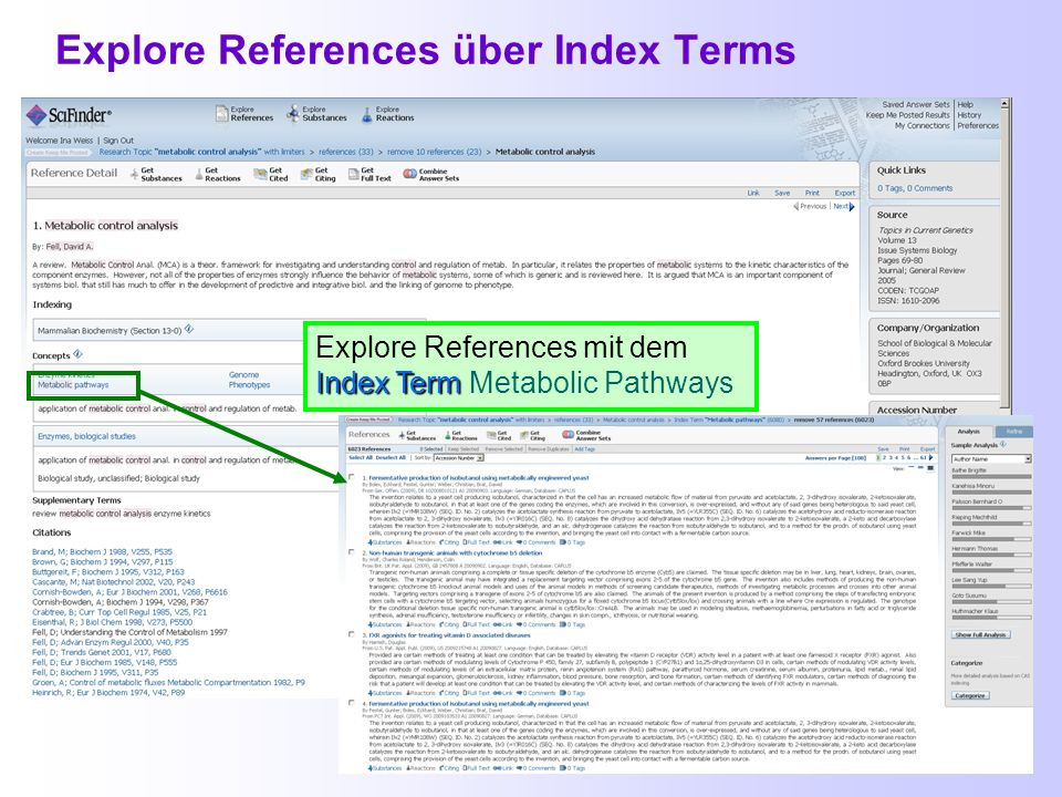 Explore References über Index Terms