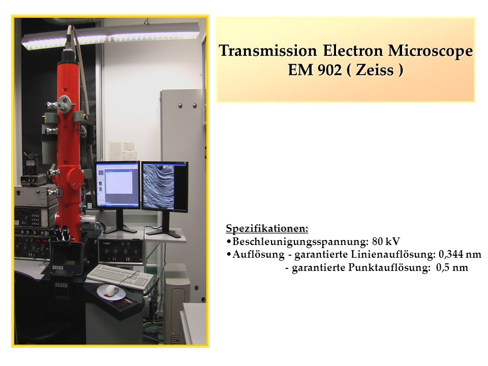 Transmission Electron Microscope