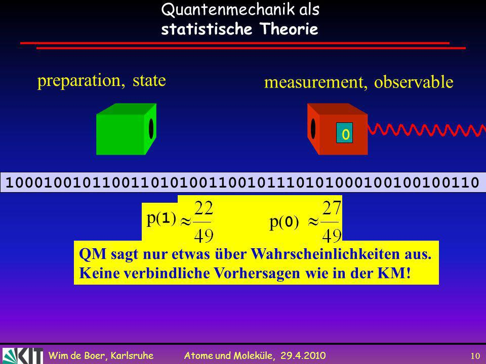 measurement, observable