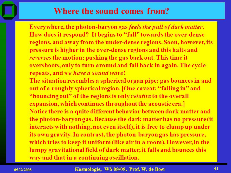Where the sound comes from
