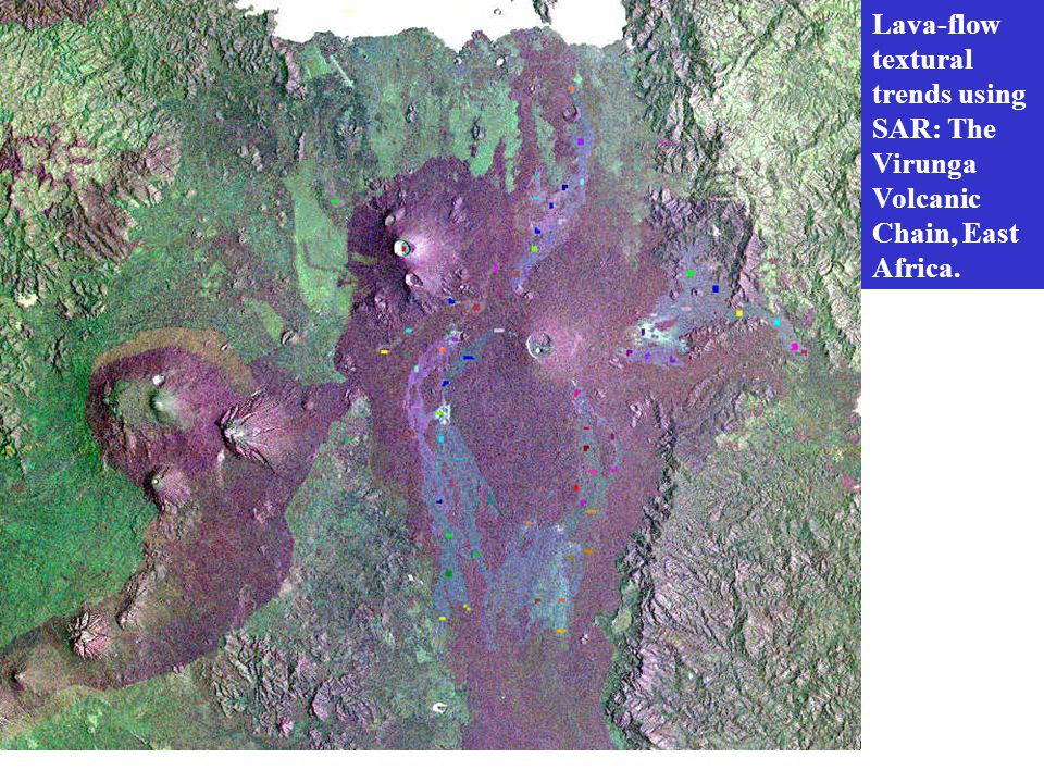 Lava-flow textural trends using SAR: The Virunga Volcanic Chain, East Africa.