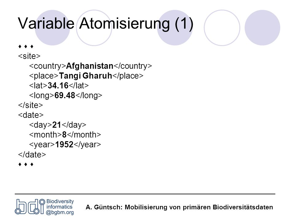 Variable Atomisierung (1)