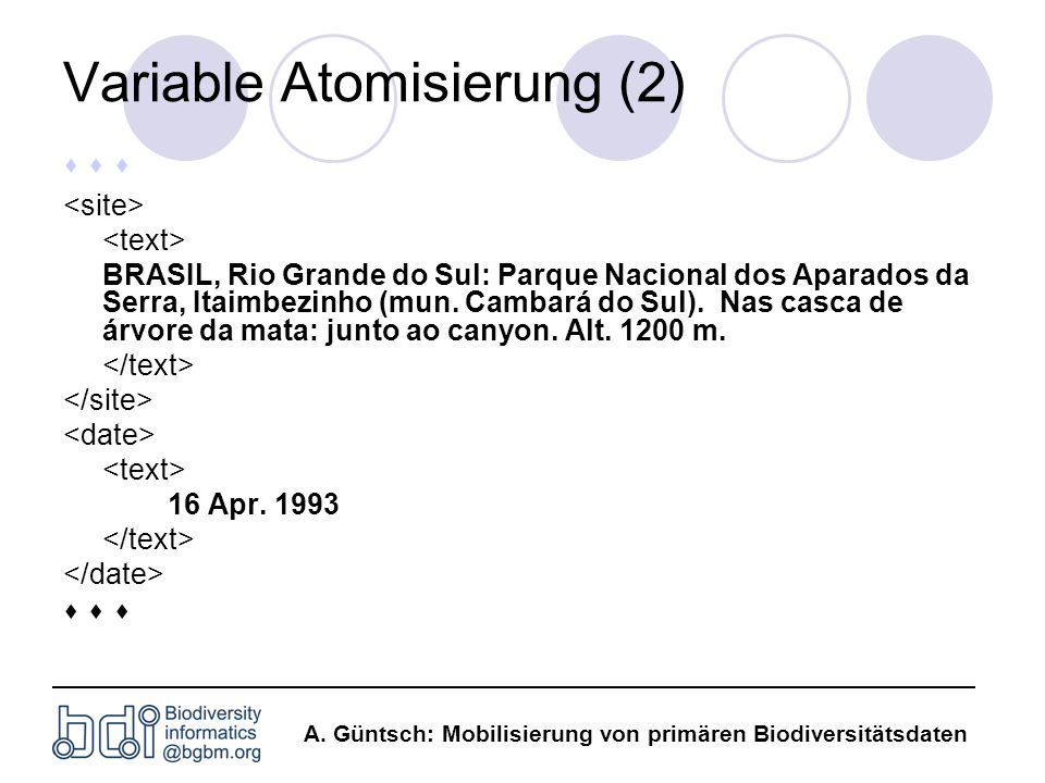 Variable Atomisierung (2)