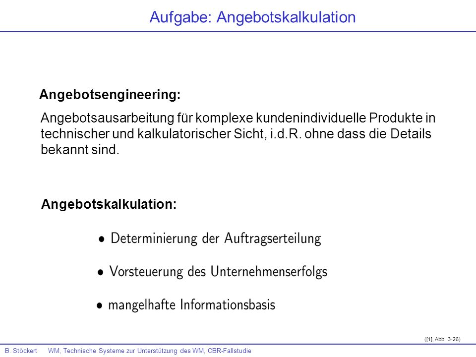 Angebotsengineering: