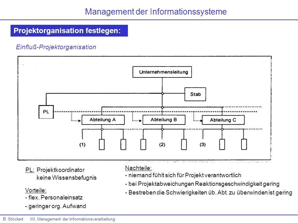 Management der Informationssysteme