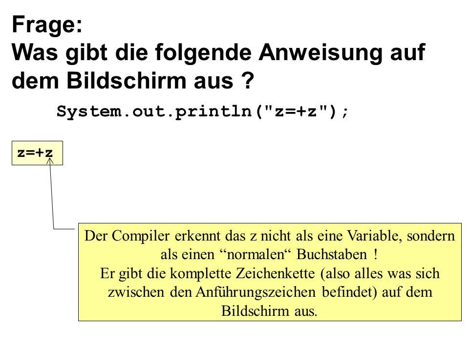 Programmier-sprache Java Weiter mit PP.. - ppt herunterladen