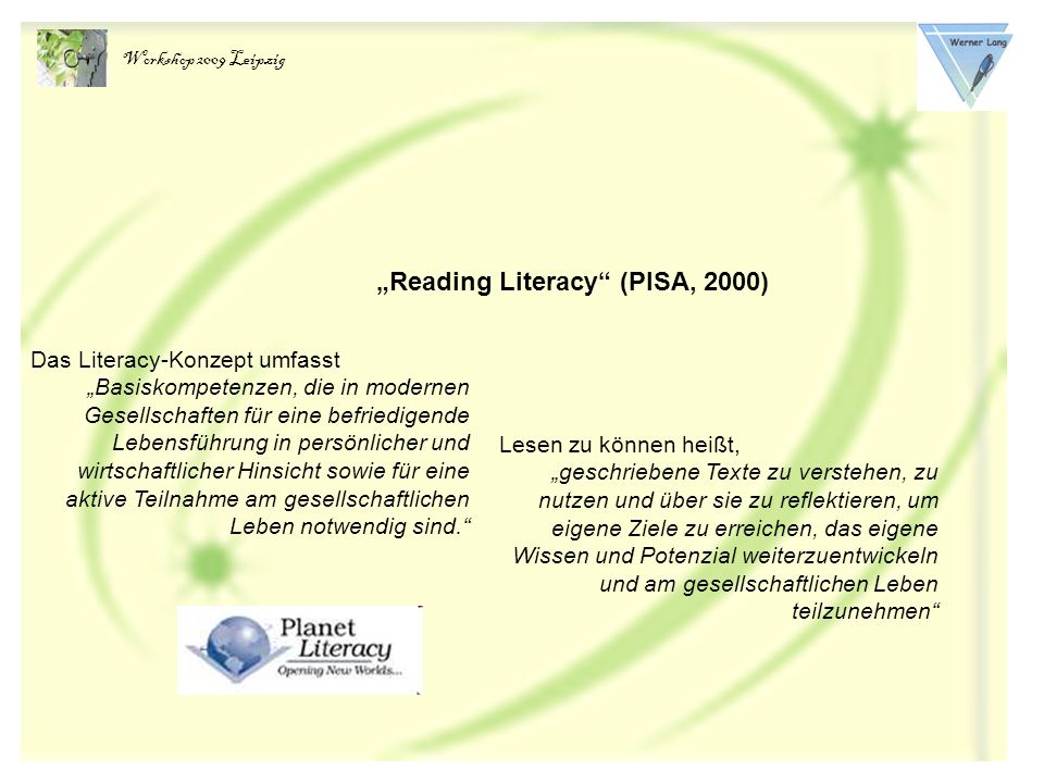 """Reading Literacy (PISA, 2000)"
