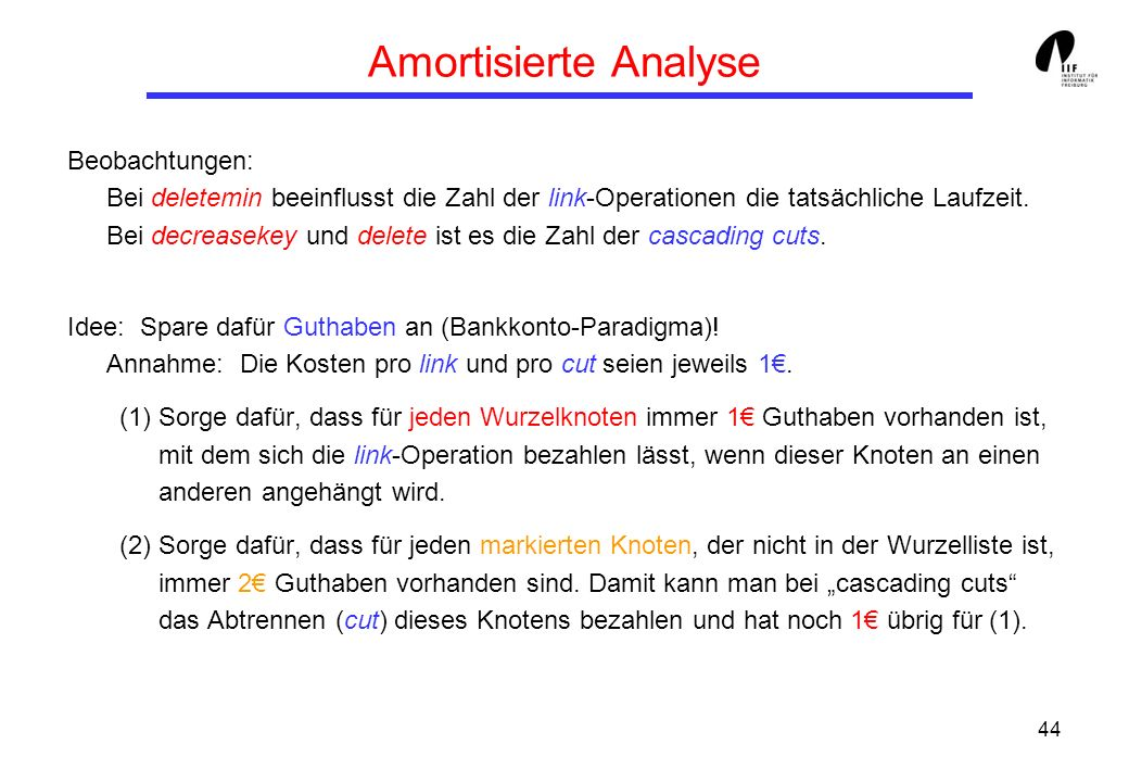 Amortisierte Analyse