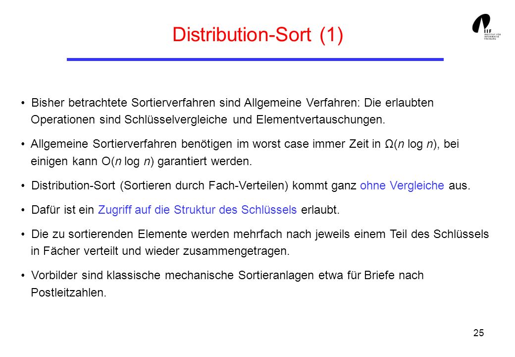 Distribution-Sort (1)