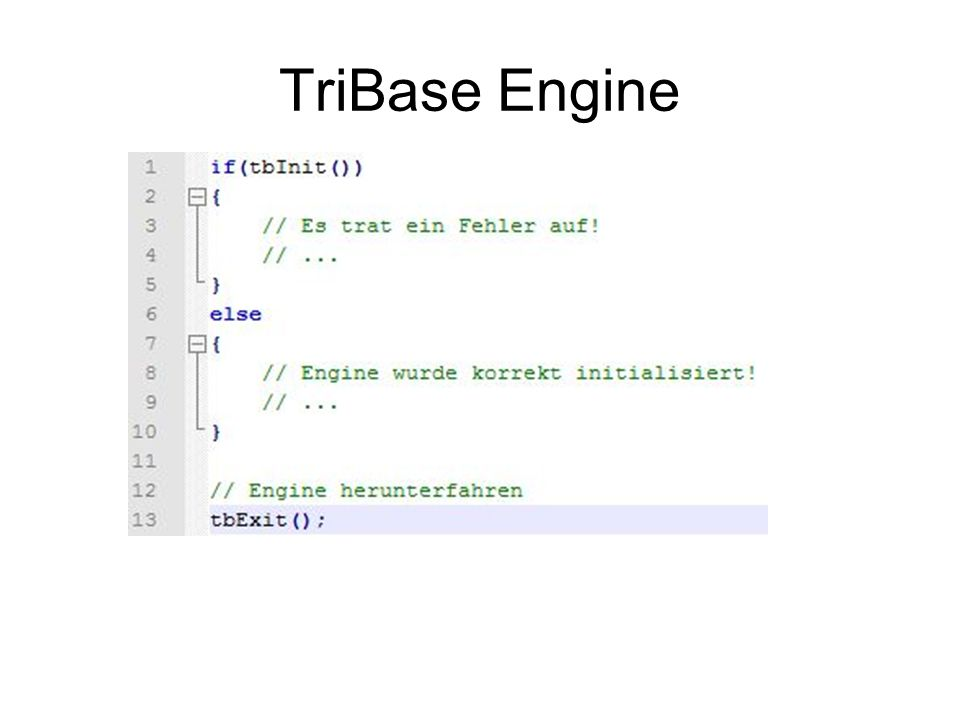 TriBase Engine