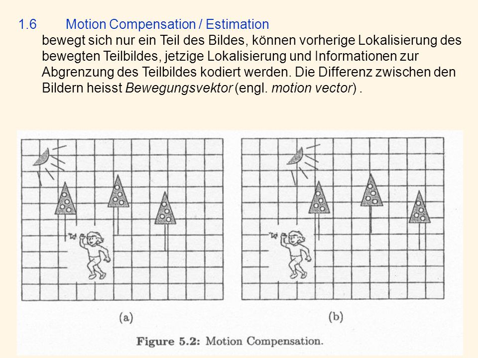 1.6 Motion Compensation / Estimation