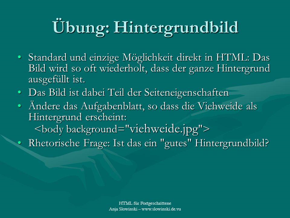 Webseiten für Fortgeschrittene HTML Teil 2 - ppt video online ...
