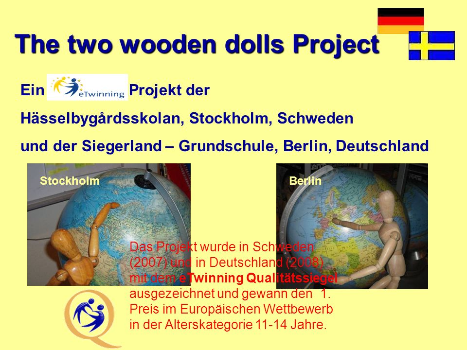 The two wooden dolls Project