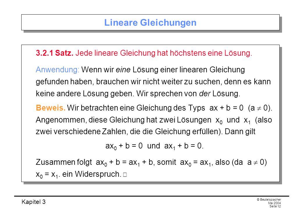 Berühmt Praxis Lösen Linearer Gleichungen Galerie - Gemischte ...