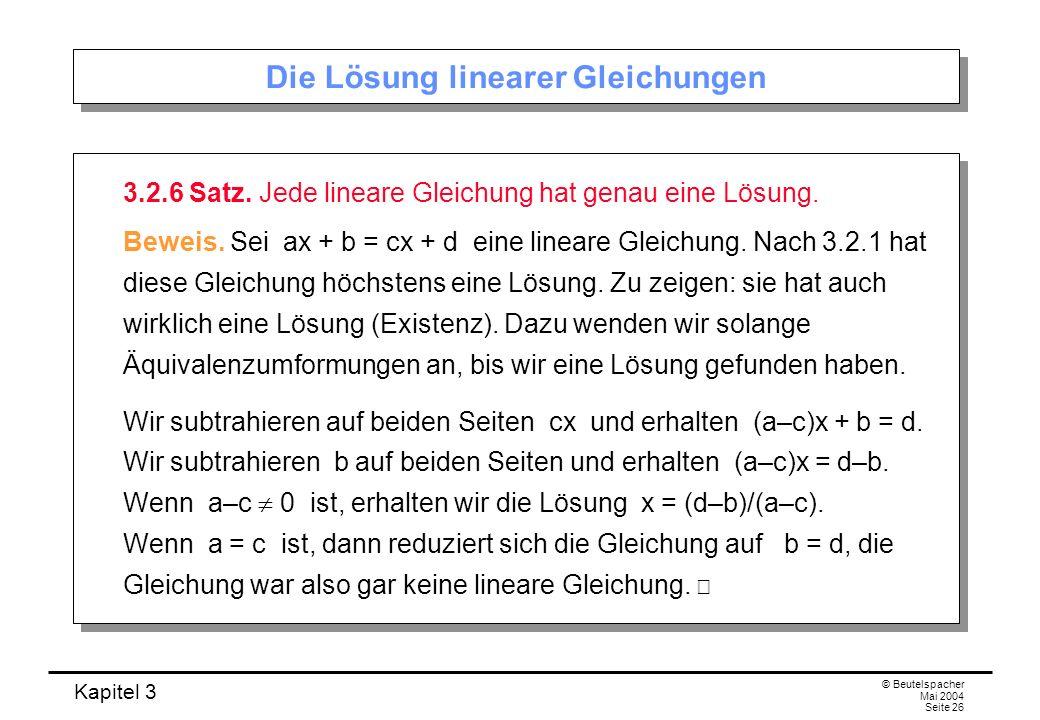 Kapitel 3 Gleichungen. - ppt video online herunterladen