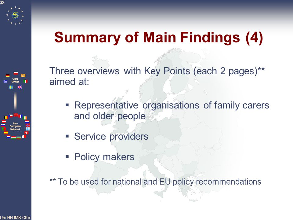 Summary of Main Findings (4)