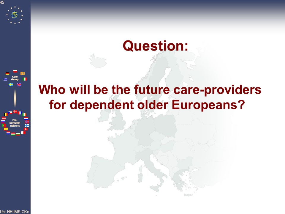 Who will be the future care-providers for dependent older Europeans