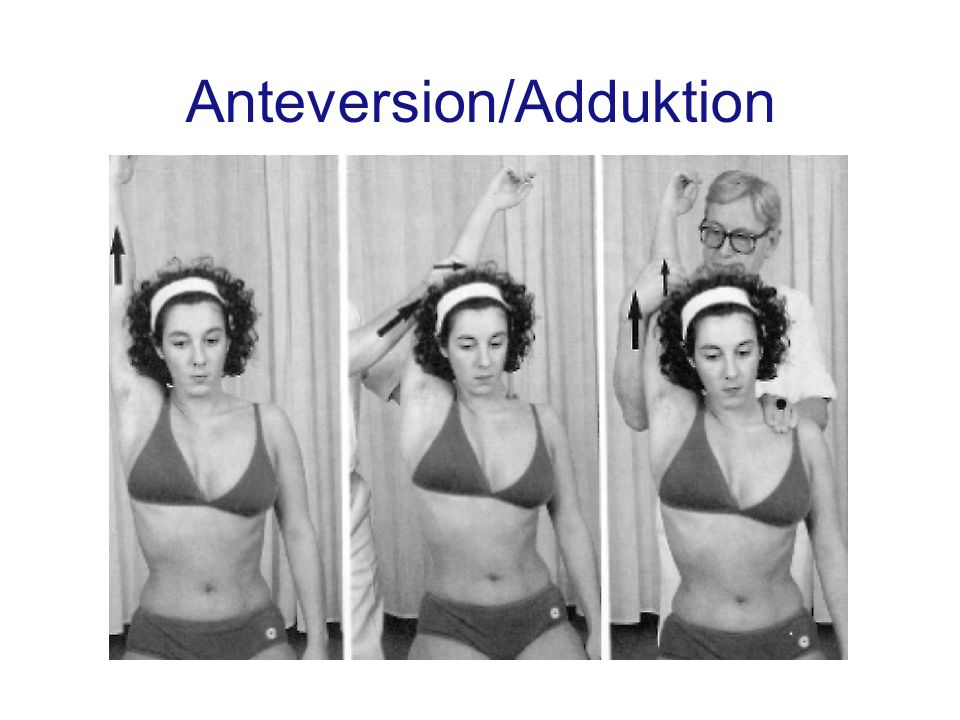 Anteversion/Adduktion