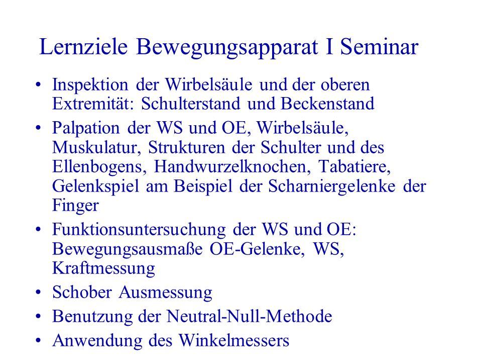 Lernziele Bewegungsapparat I Vorlesung - ppt video online herunterladen