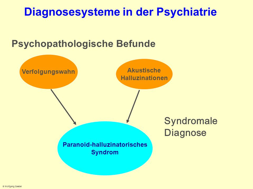 Diagnosesysteme in der Psychiatrie
