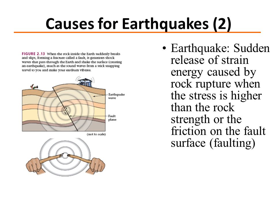 Causes for Earthquakes (2)