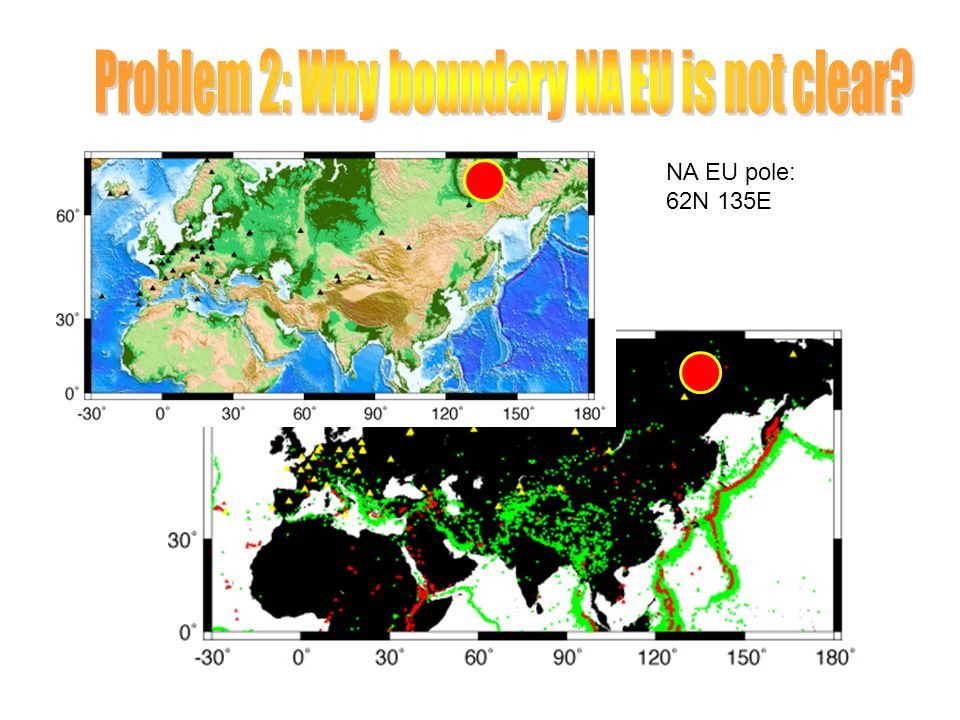 Problem 2: Why boundary NA EU is not clear